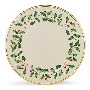 Lenox 835217 Holiday Dinner Plates, Set of 6