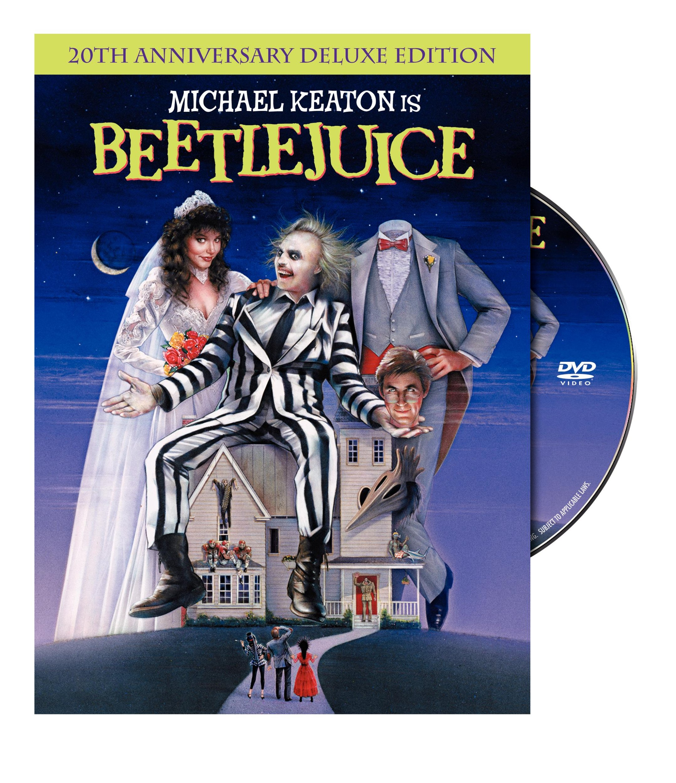 DVD : Beetlejuice (20th Anniversary Edition) (Deluxe Edition, Anniversary Edition, , Dubbed, Dolby)