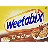 Weetabix Chocolate 24 Biscuits (Pack of 5, total of 120 biscuits)