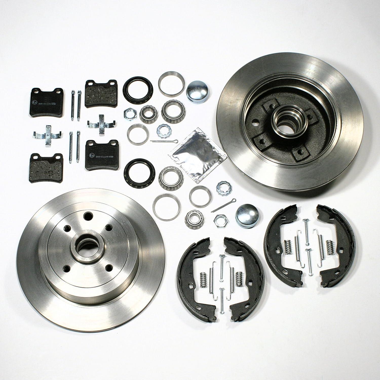Bremsscheiben//Bremsen Bremsbel/äge Handbremse Zubeh/ör Radlager hinten