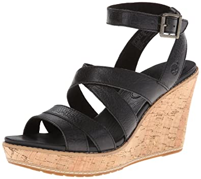 Timberland Women s Danforth Cork Wedge Sandal f03e2acb62