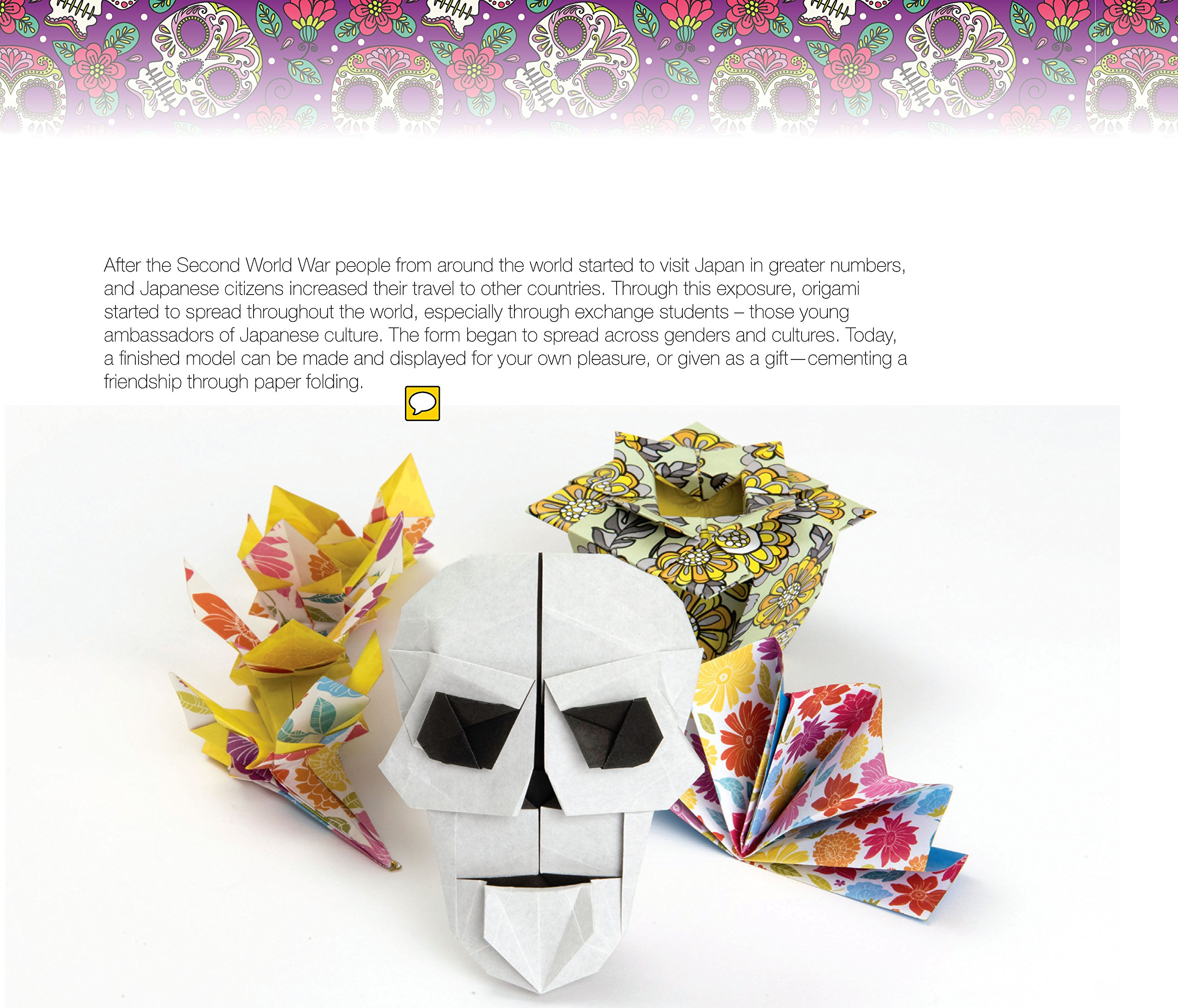 Day of the Dead Origami by Barron's Educational Series (Image #2)