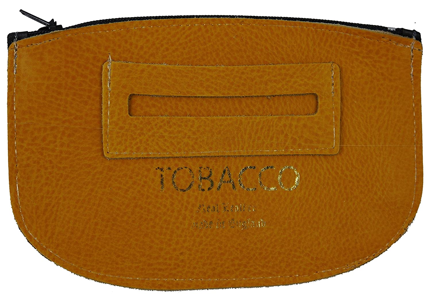Real Leather Tobacco Pouch with Paper Pocket Made in England Exclusively for Larissa & Co