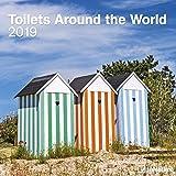 2019 Toilets Around the World Calendar - Humour Calendar - 30 x 30 cm