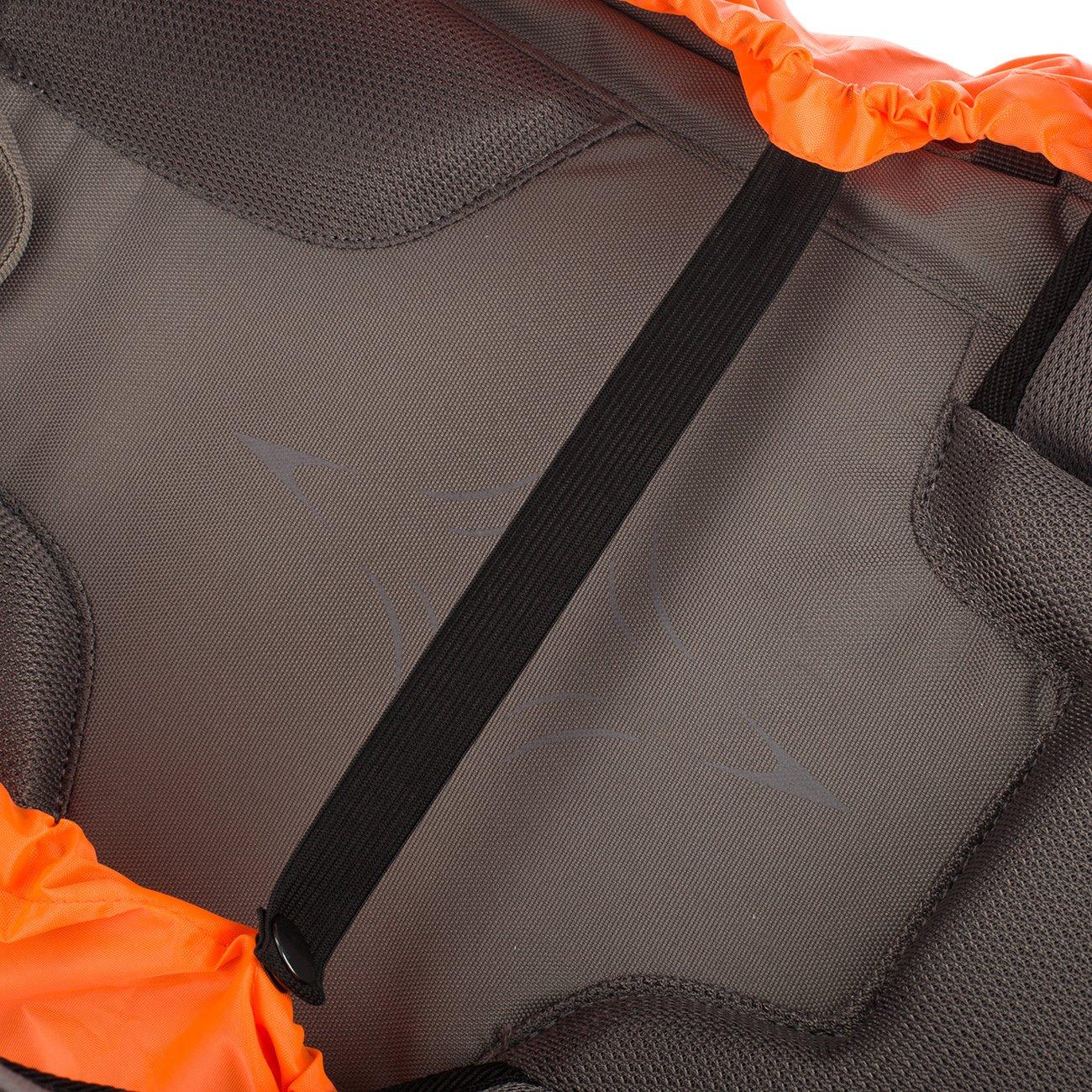 Paseos a Caballo Escalada Negro//Naranja Viajes Overmont Cubierta Impermeable Protector de Lluvia de Mochila con Cinta Reflectante para el Aire Libre