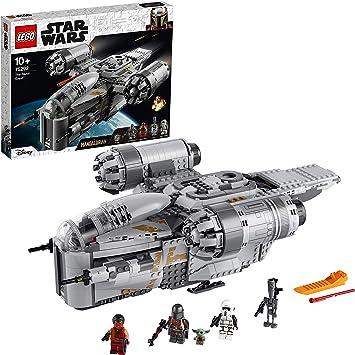 Lego Star Wars The Mandalorian The Razor Crest Nave Espacial Del Cazarrecompensas Juguete Con Figurita Del Niño 75292 Amazon Es Juguetes Y Juegos
