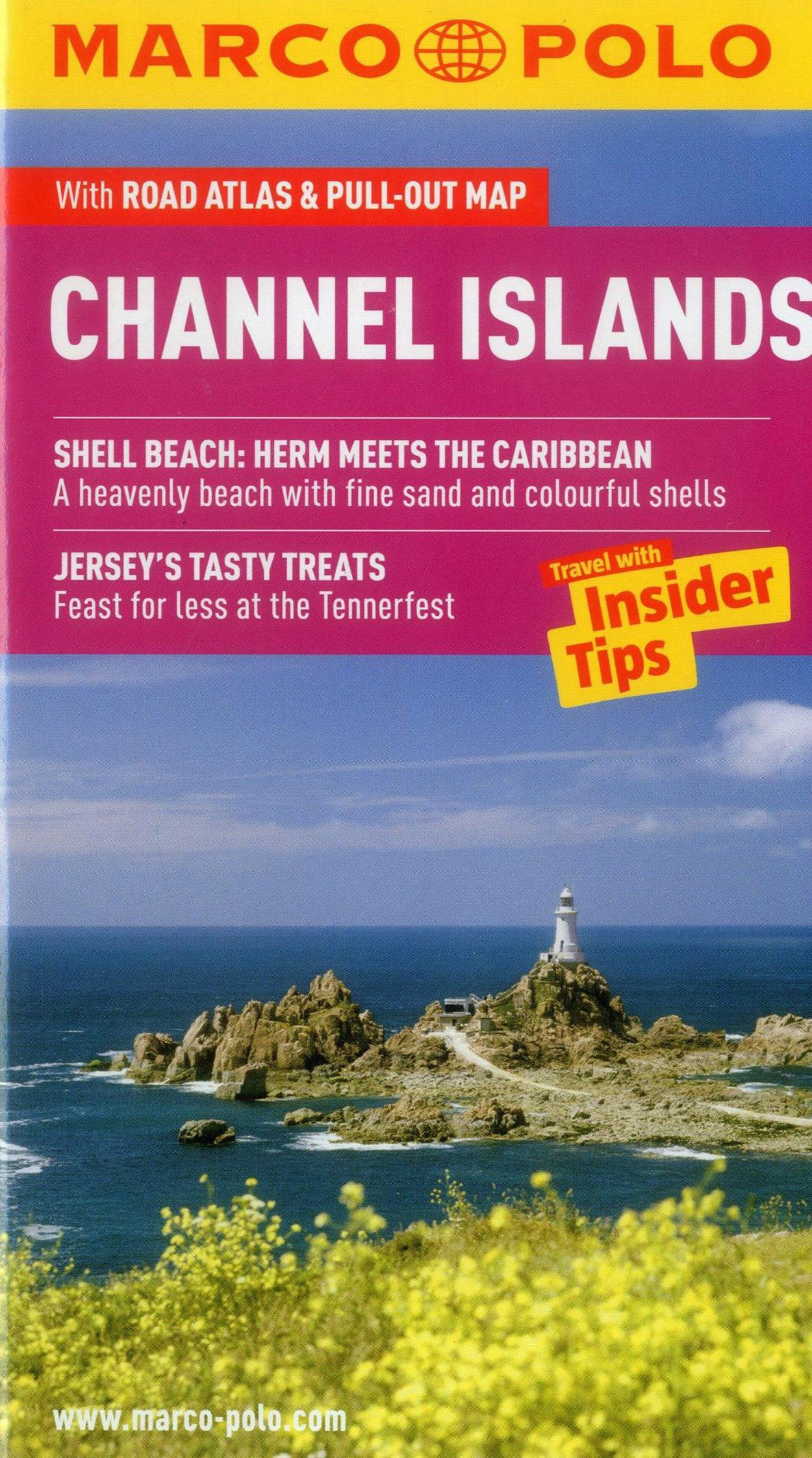 Marco Polo Channel Islands: The Travel Guide With Insider Tips , Road Atlas & Pull-out Map