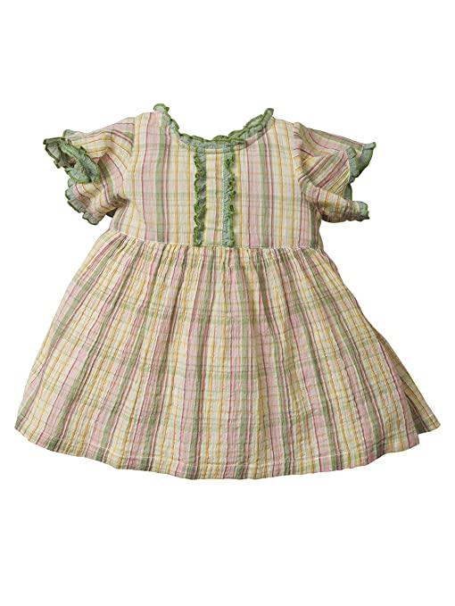 1940s Children's Clothing: Girls, Boys, Baby, Toddler Beth Pink Baby Dress $24.50 AT vintagedancer.com