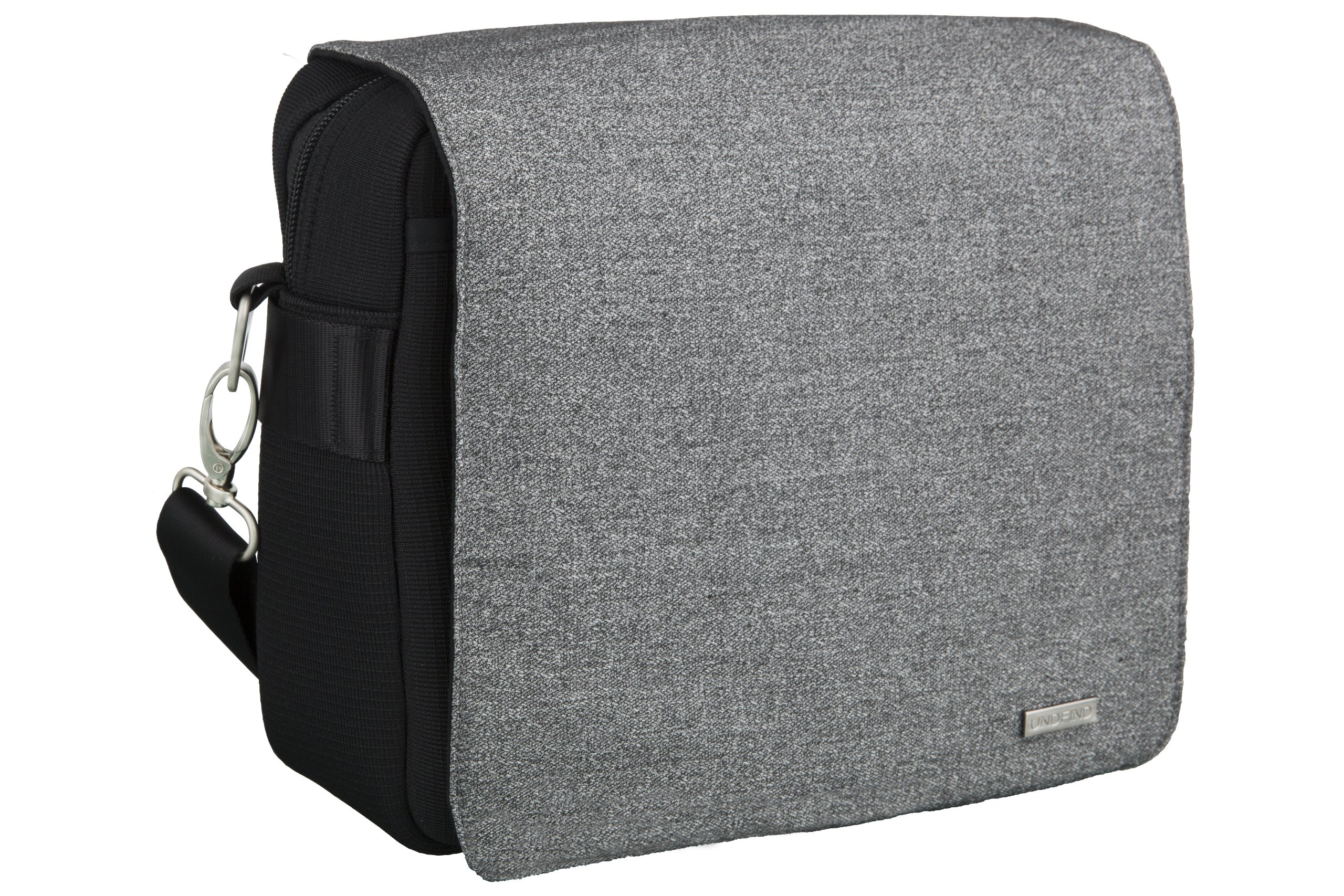 Undfind OB10-0009 One Bag 10-Inch Camera and Laptop Bag with Cover and Photo Insert (City Grey) by UNDFIND