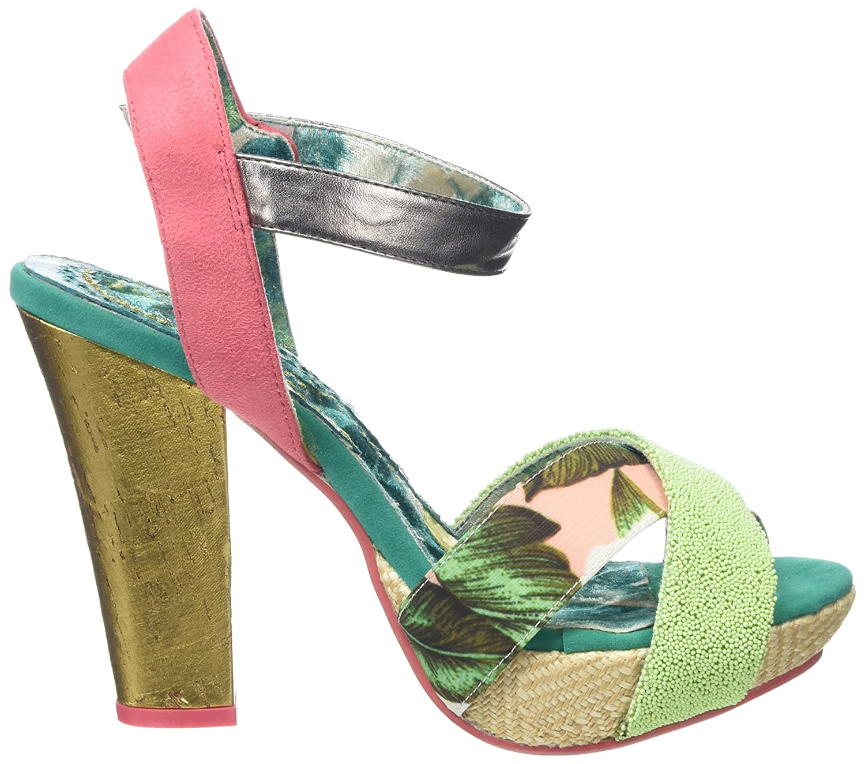 Irregular Choice Women Shoop Ankle Strap Sandals, Pink (Pink Multi), 7.5 UK  41 EU: Amazon.co.uk: Shoes & Bags