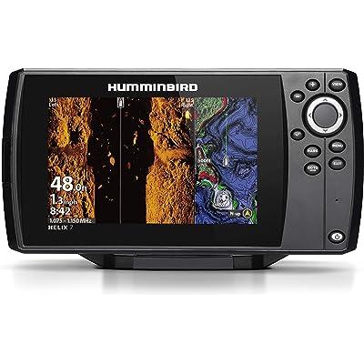 Humminbird HELIX 7 Fishfinder 410950-1NAV, CHIRP MSI GPS G3 with Navionics + Card