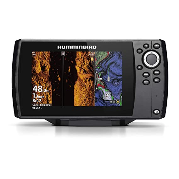 Humminbird HELIX 7 Fishfinder 410950-1NAV, CHIRP MSI GPS G3 with Navionics + Card