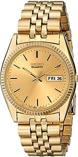 a452aacbc Amazon.com: Seiko Men's SGF204 Stainless Steel Two-Tone Watch: Seiko ...