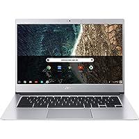 "Acer Chromebook 514 CB514-1H-C0N4 Notebook Portatile, Intel Celeron Quad Core N3450, RAM 4GB DDR4, eMMC 64GB, Display 14"" IPS Full HD LED LCD, Intel HD 500, PC Portatile, Google Chrome, Silver"