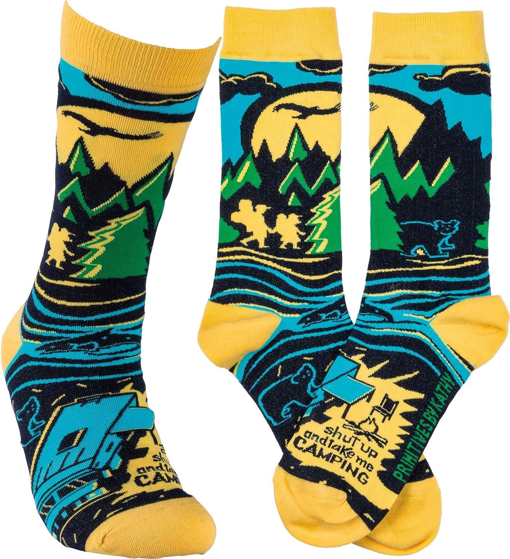 Primitives By Kathy Lol Camping Socks