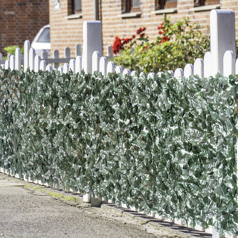 Outsunny Kunstliche Hecke Sichtschutzhecke Pflanzen Hecke Gras