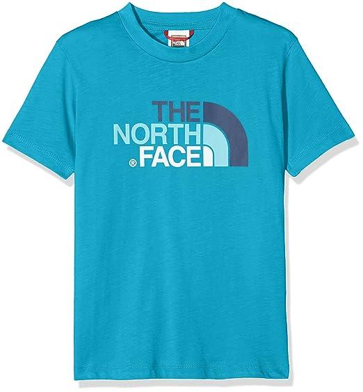 The North Face Y S/S Easy tee Camiseta, Jóvenes: Amazon.es: Ropa y ...