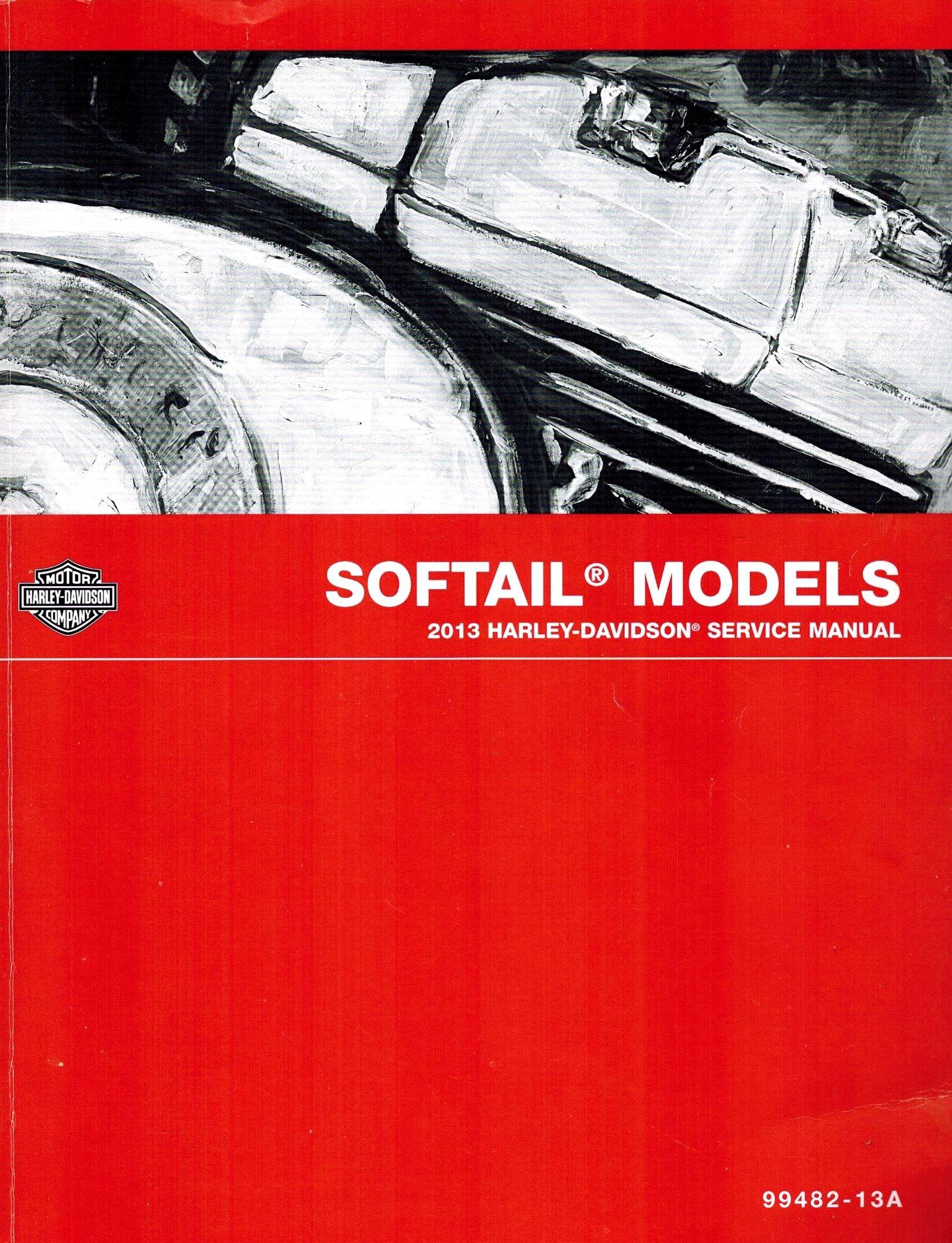 2013 Harley Davidson Softail Model Service Shop Repair Manual PDF