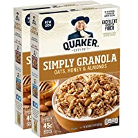 Deals on 2-Pack Quaker Simply Granola, Oats Honey & Almonds 28oz