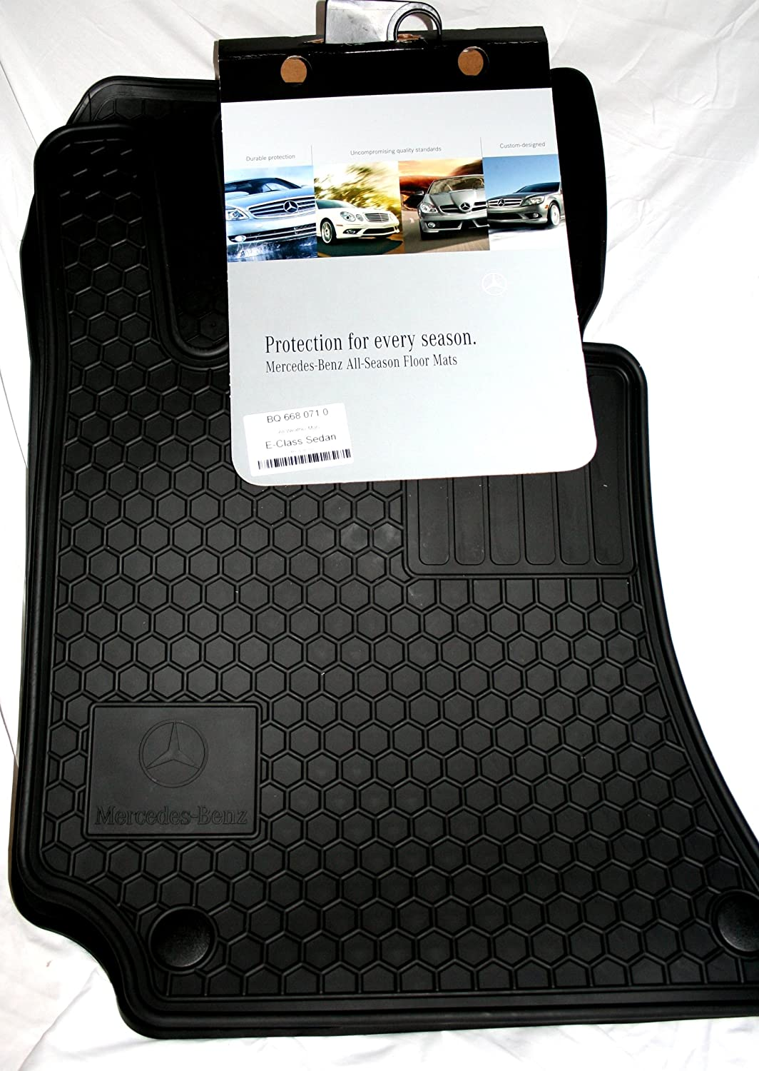 Amazon.com: Genuine Mercedes Benz Q6680710   Rubber Floor Mats W212 E250  E350 E400 E550 SEDAN U0026 WAGON Black: Automotive