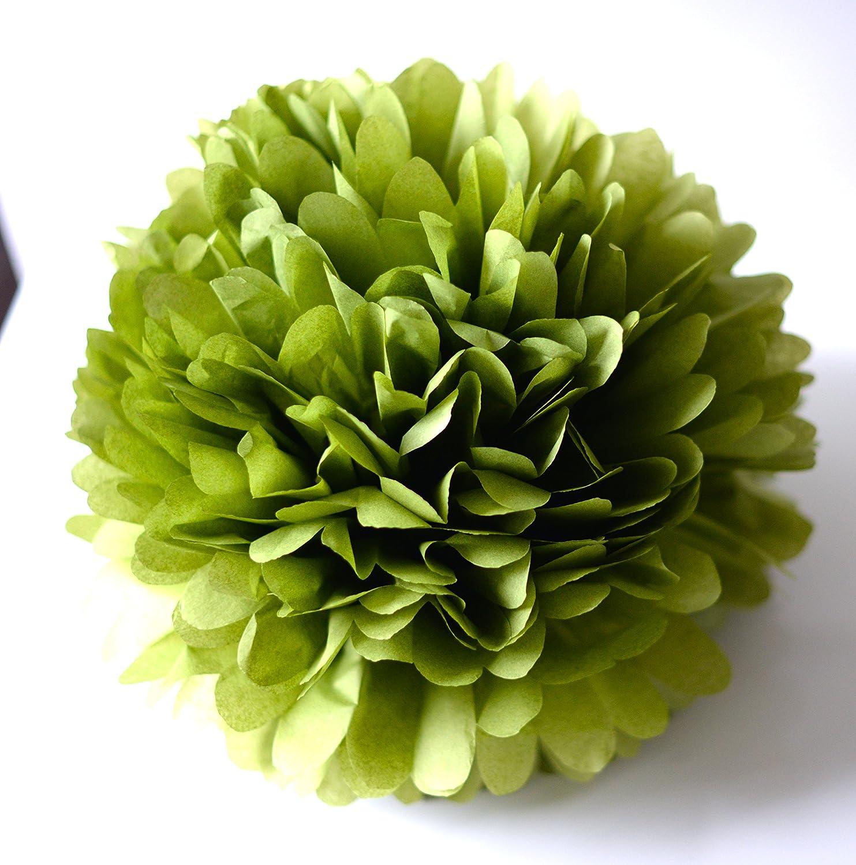 decopompoms Aloe Seidenpapier Pompon 22 cm