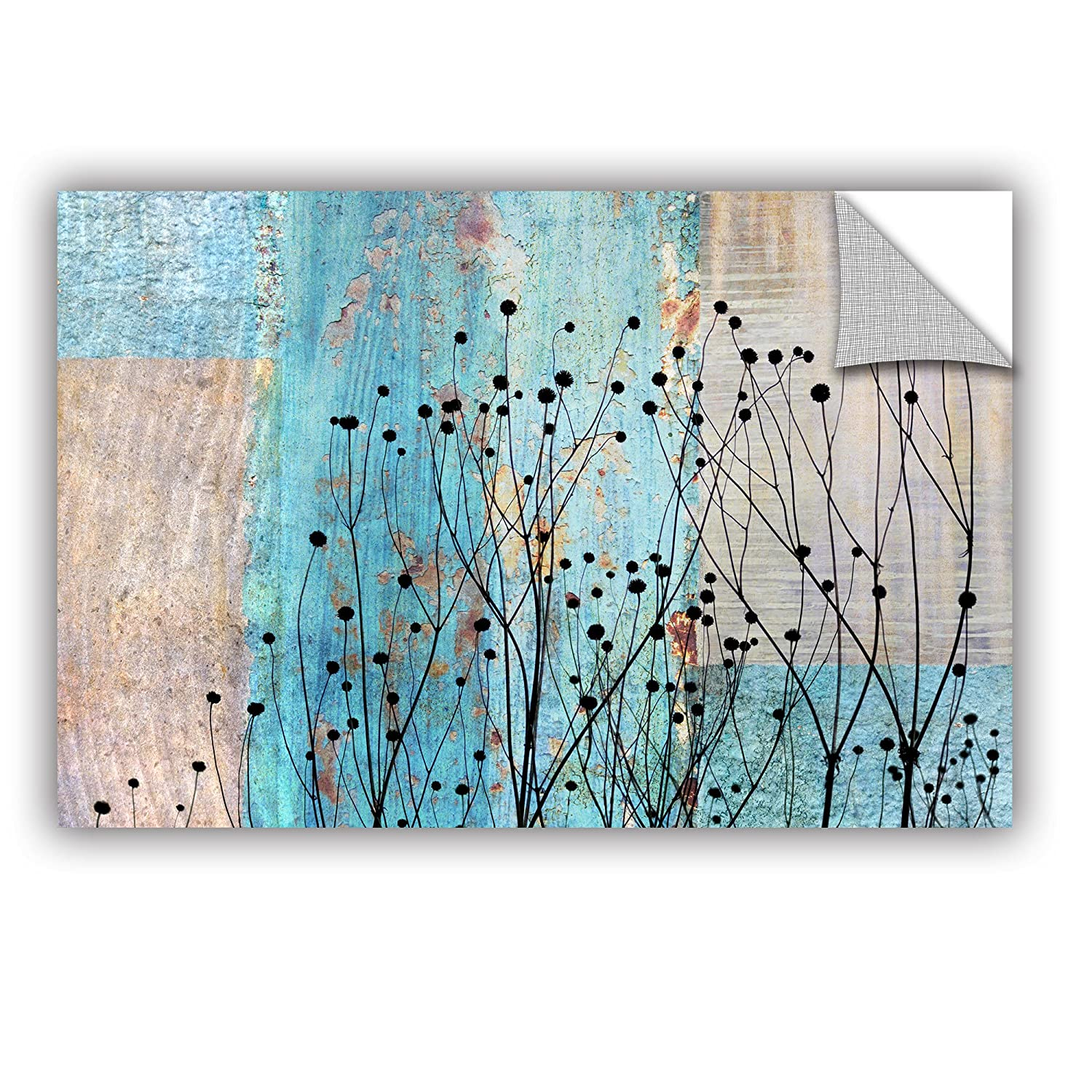 ArtWall Cora Nieles Dark Silhouette III Appeelz Removable Graphic Wall Art 24 by 36