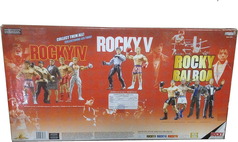 ROCKY 6-PACK EXCLUSIVE 30TH ANNIVERSARY COLLECTORS BOX SET Rocky Boxing Action Figures by WRESTLING: Amazon.es: Juguetes y juegos