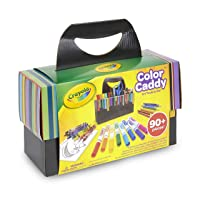 Deals on Crayola Color Caddy Art Set w/Craft Supplies Gift for Kids