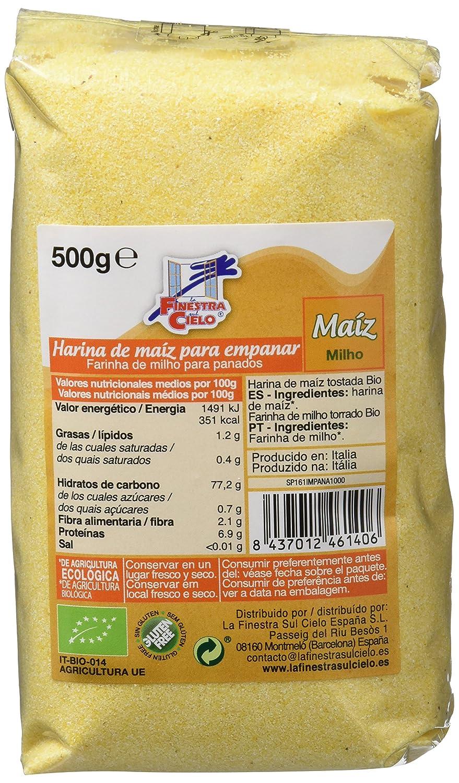 Harina de maíz para empanar - La Finestra sul Cielo - caja ...