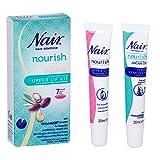 Nair Hair Remover - Natural Argan Oil Upper Lip Kit, 20ml
