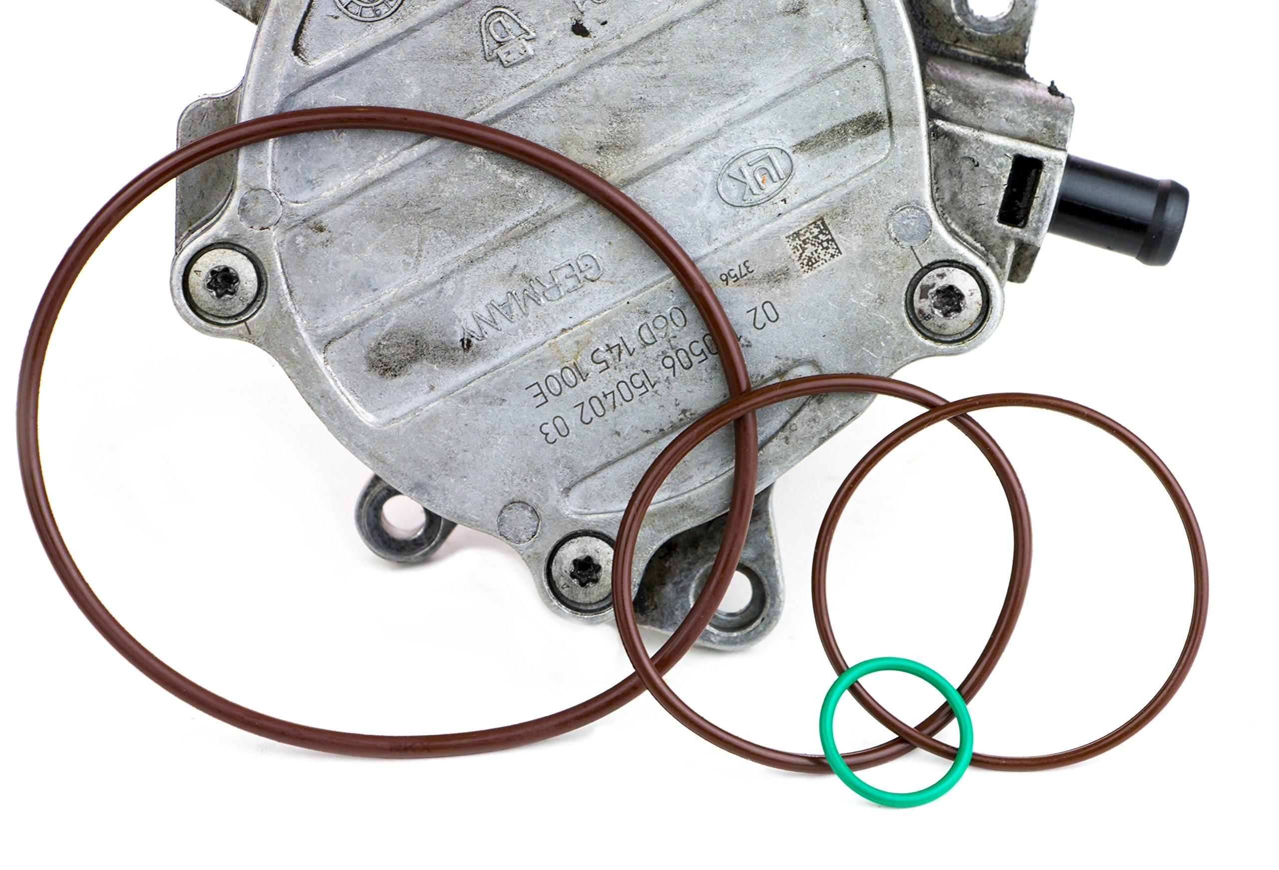 RKX VW & Audi 2.0T Vacuum Pump Reseal / Rebuild Kit 2.0 T MKv, B6, 8P, B7 gasket