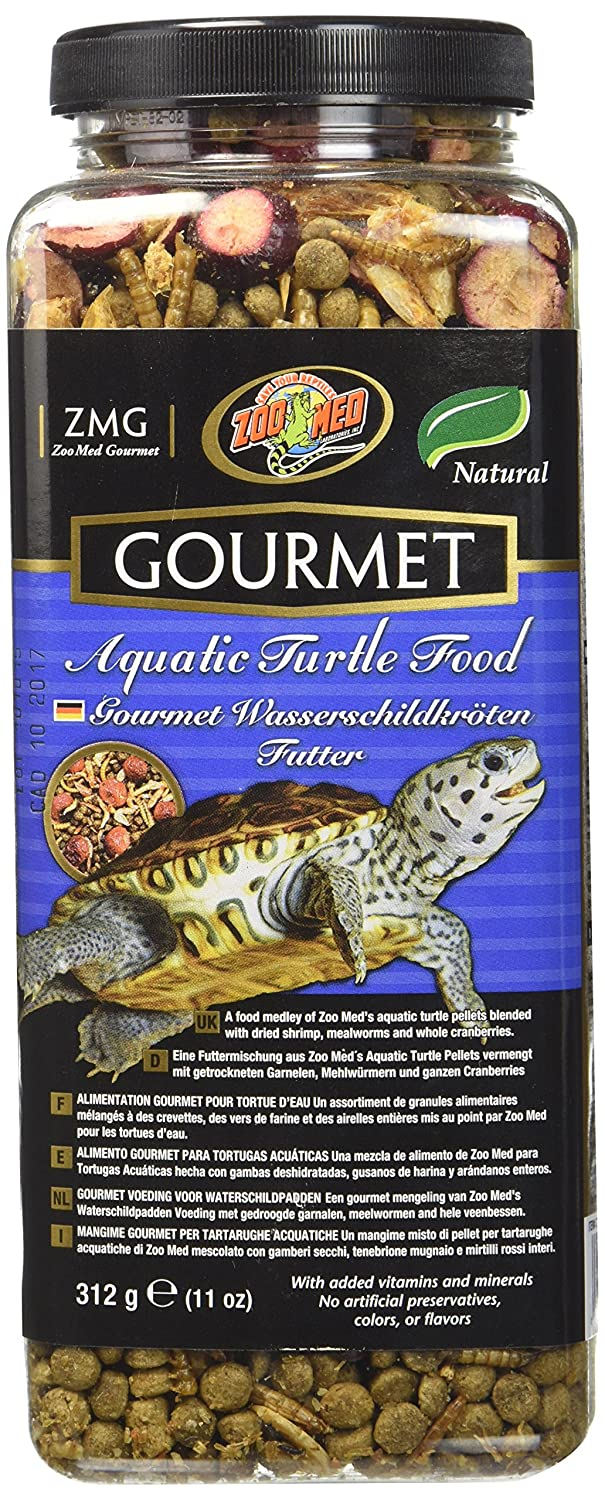 Zoo Med Gourmet Aquatic Turtle Food, 12-Ounce ZM98
