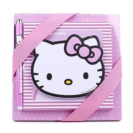 e618d219607c Amazon.com  Hallmark Hello Kitty Notepad Set (3 Notepads
