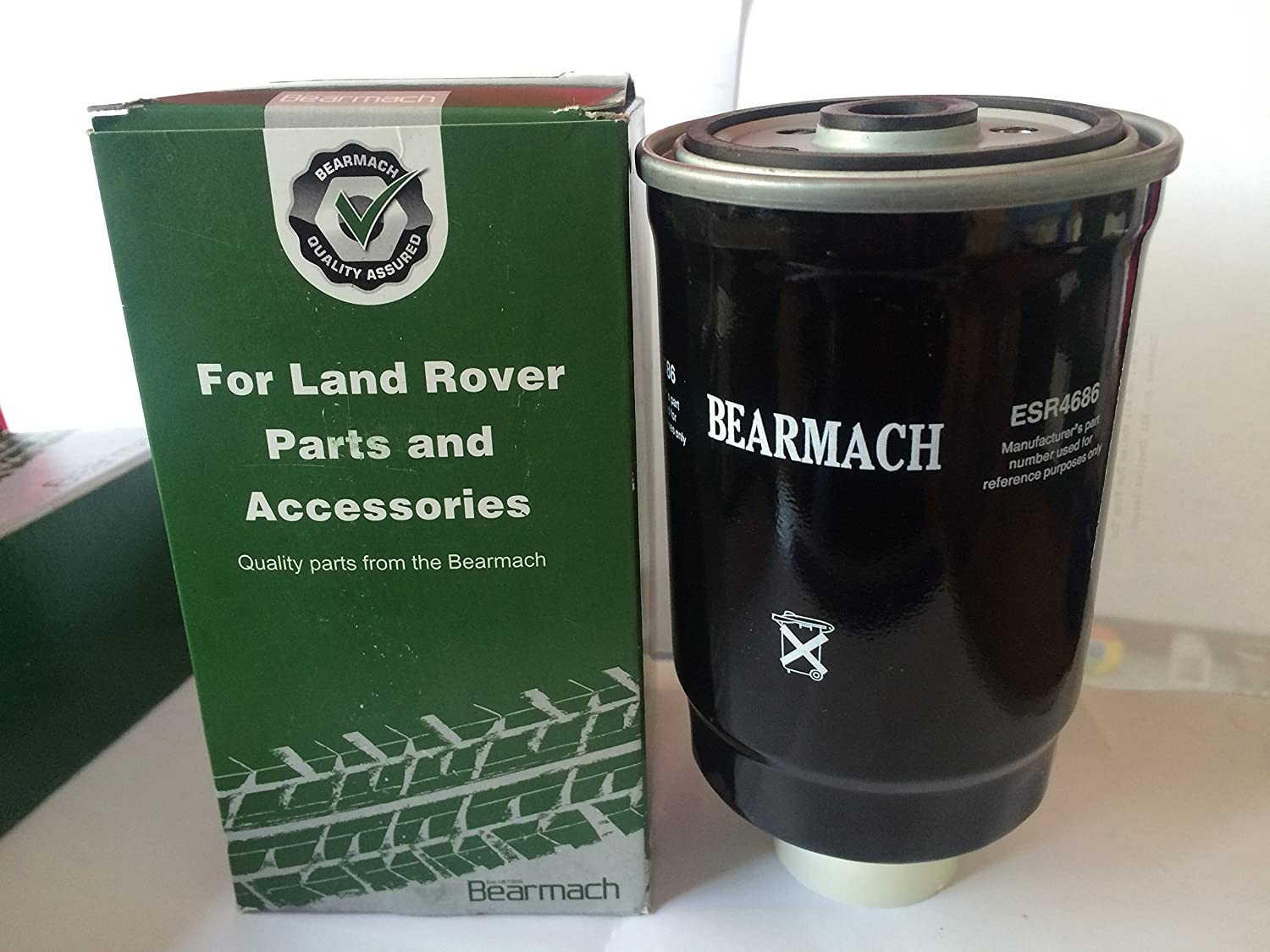 GENUINE LAND ROVER DISCOVERY 2 and DEFENDER TD5 DIESEL FUEL FILTER ESR4686