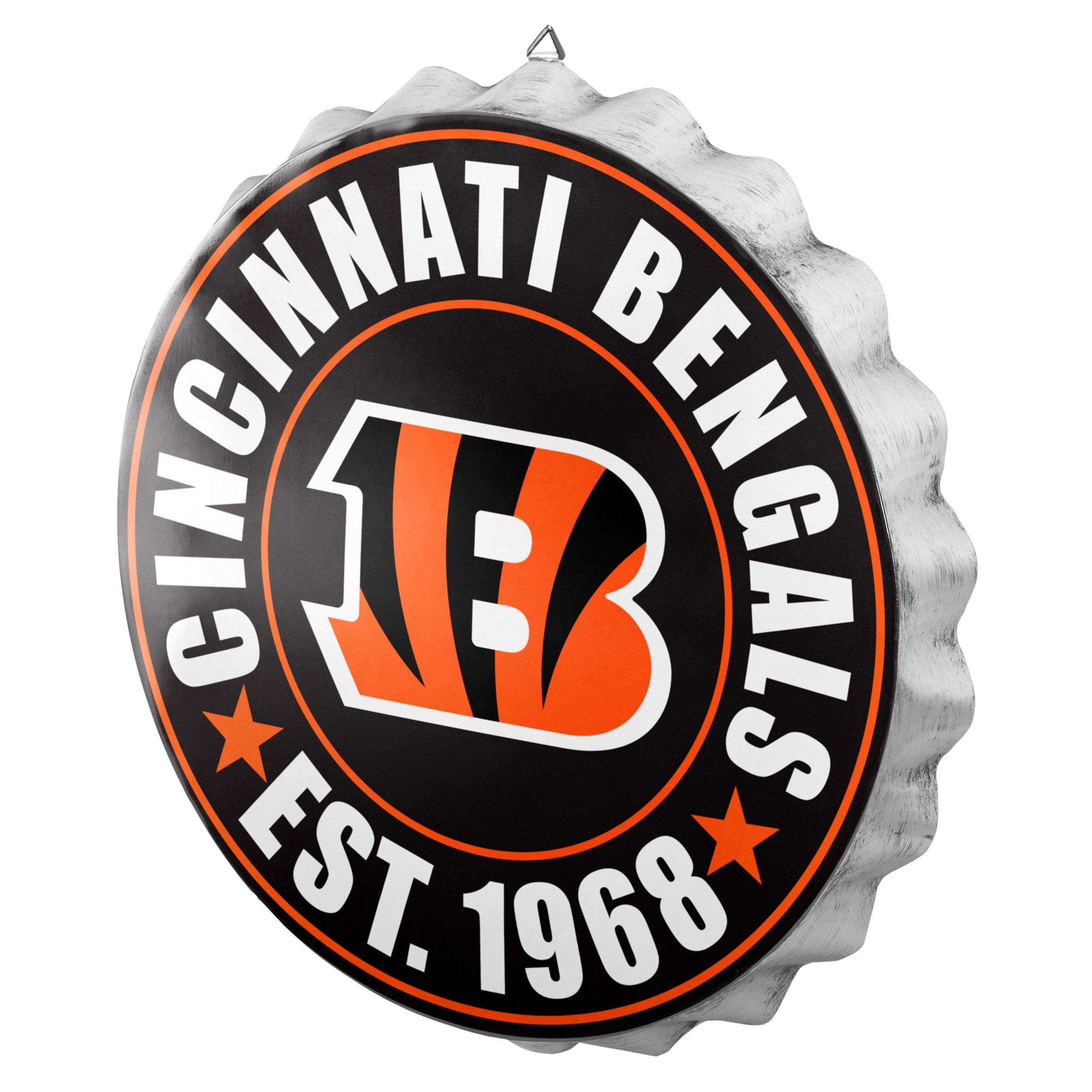 Cincinnati Bengals 2016 Bottle Cap Wall Sign by FOCO