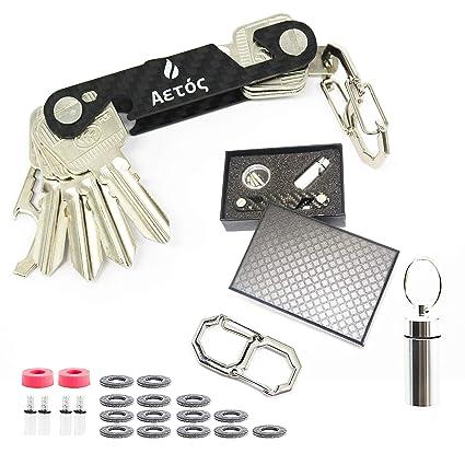 Llavero organizador de llaves inteligente y compacto, hecho ...