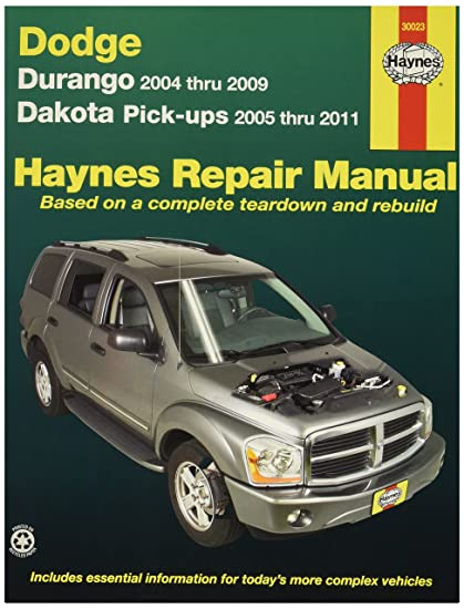 amazon com haynes 30023 dge durango dakota 04 06 automotive rh amazon com 1992 Dodge Dakota Wiring Diagram Dodge Dakota Replacement Parts