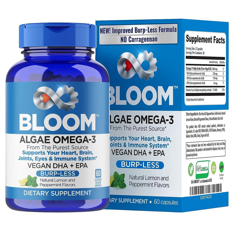 Amazon.com: VEGAN OMEGA 3 - Better Than Fish Oil! Plant Based, Algae ...