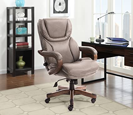 Amazoncom Serta 43506c Big And Tall Office Chair Gray Kitchen