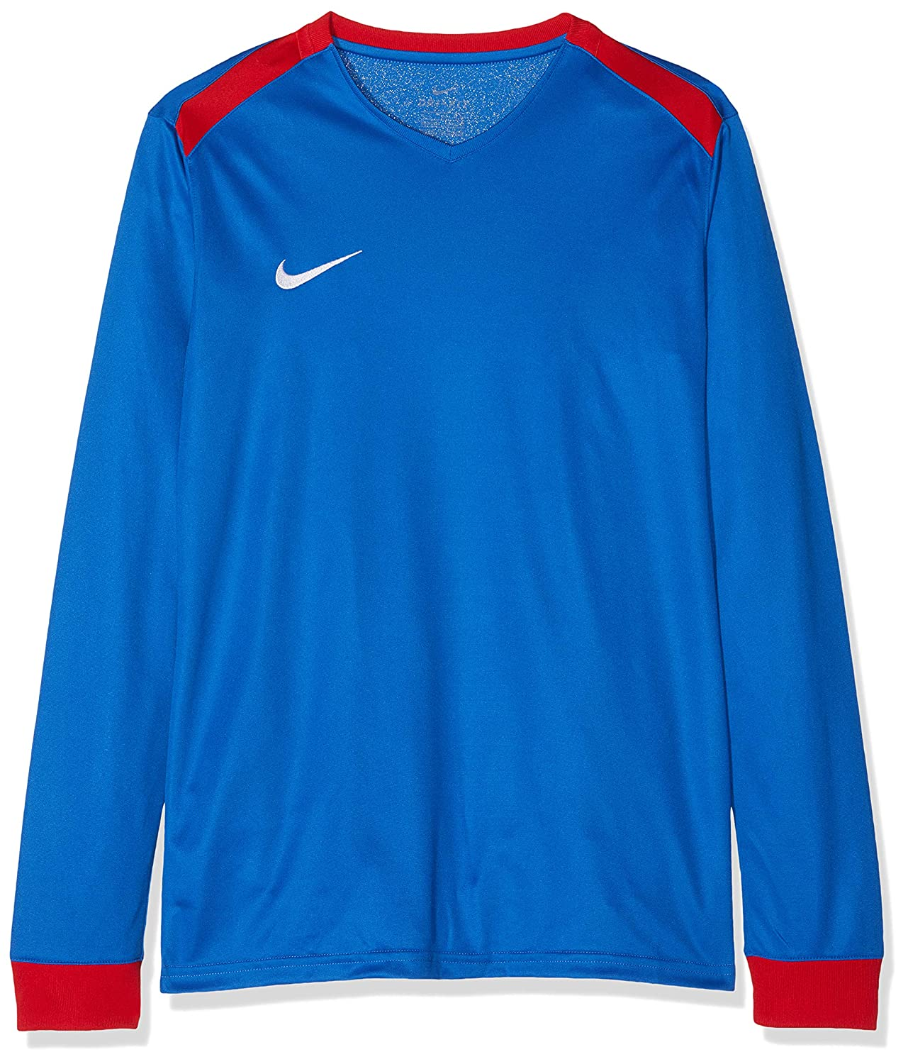 fca363ff Details about Nike Park Derby II Children's Shirt – Royal Blue/University  Red/White, XL