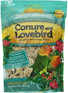 product image for Sweet Harvest Vitamin Enriched Conure & Lovebird Food 2 LB
