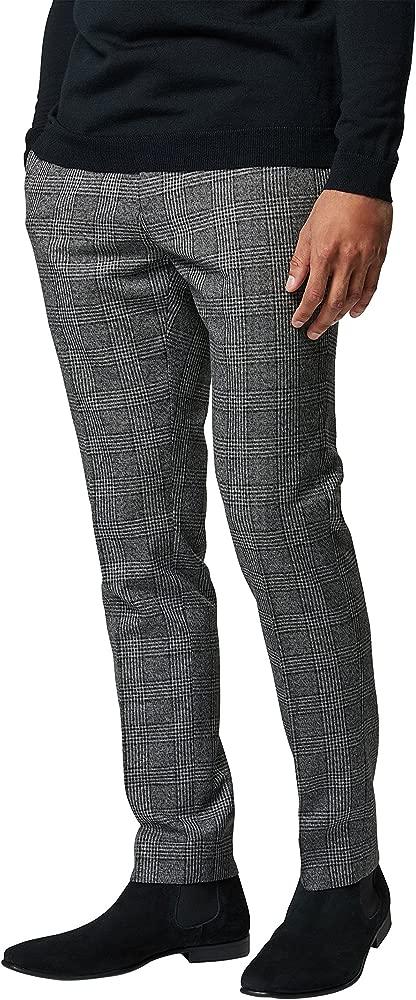 next Hombre Traje De Cuadros Llamativos: Pantalones: Amazon ...
