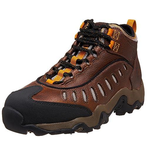 9b3315dea63 Amazon.com | Timberland PRO Men's 61096 Mudslinger Mid Hiker, Brown ...