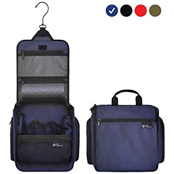 a9b3b776cd D D Hanging Toiletry Bag - Designer Travel Organizer for Makeup and  Toiletries for Men and Women