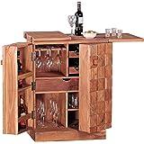 Affordable Rund Minibar Hausbar Crimson Aus Recyceltem Holz Massivholz Minibar  Wohnzimmer With Minibar Wohnzimmer