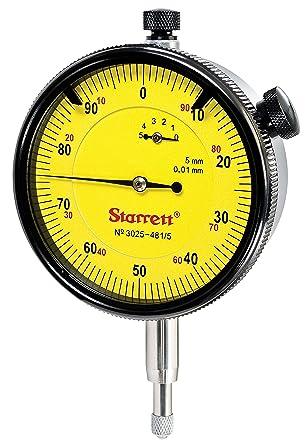 Starrett 3025-481/5 - Reloj Comparador Cap.5 Mm.Starrett