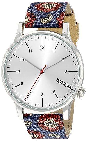 Komono KOM-W2153 - Reloj Unisex Color Gris