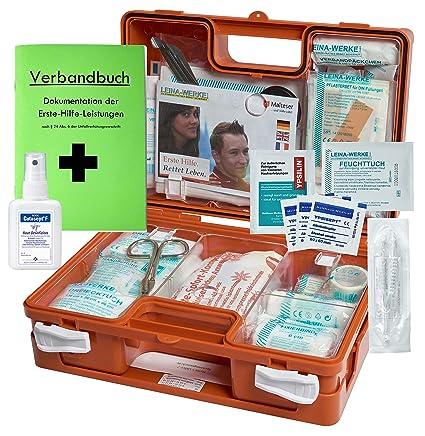 Erste Hilfe Koffer M1 Für Den Betrieb Din 13157 En 13157 Incl Verbandbuch Hände Antisept Spray