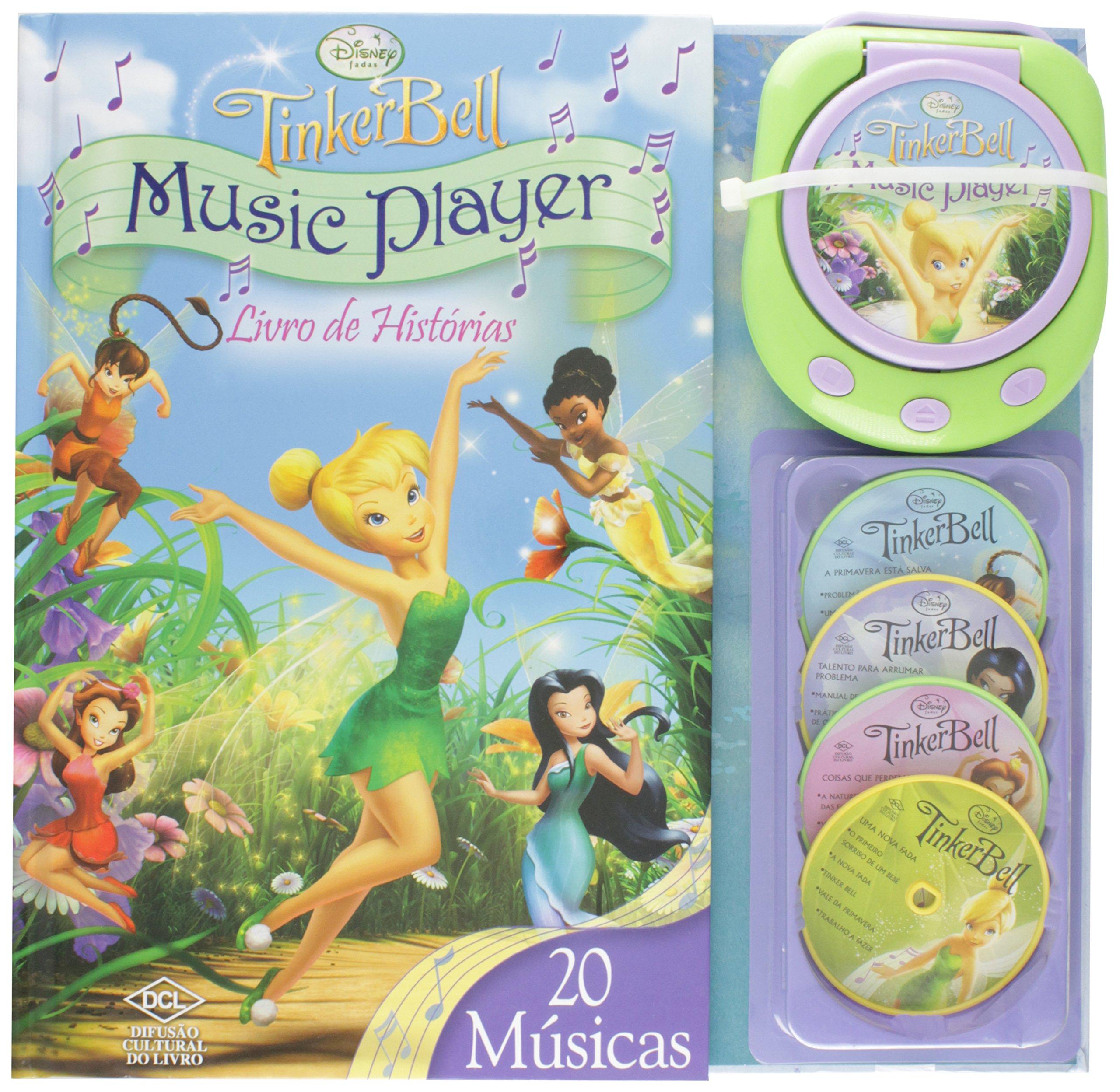 Disney Musica Player Fadas Em Portuguese Do Brasil Varios