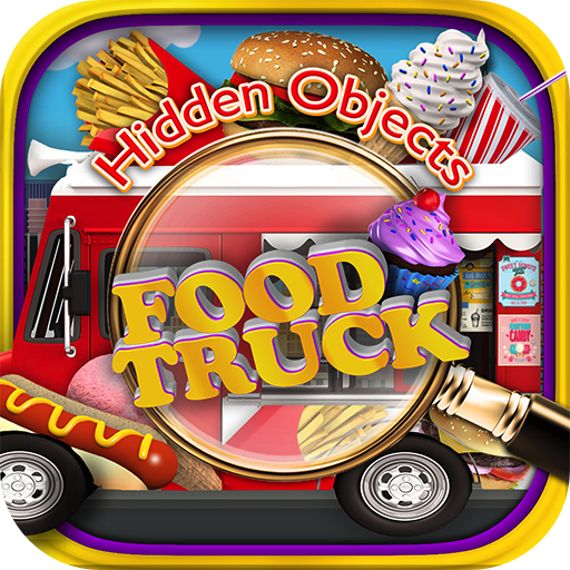 Hidden Objects Food Truck & Junk Foods -